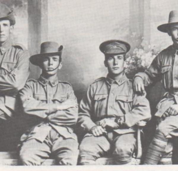 Four enlisted Potter brothers | Source: http://mv.ancestrylibrary.com/viewer/a556522f-cc00-4e12-8a41-0f17a76f295b/6172267/6913228406