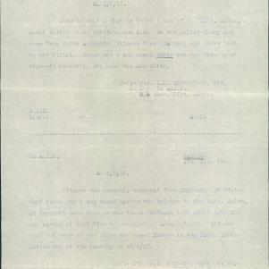 Soldier packet page