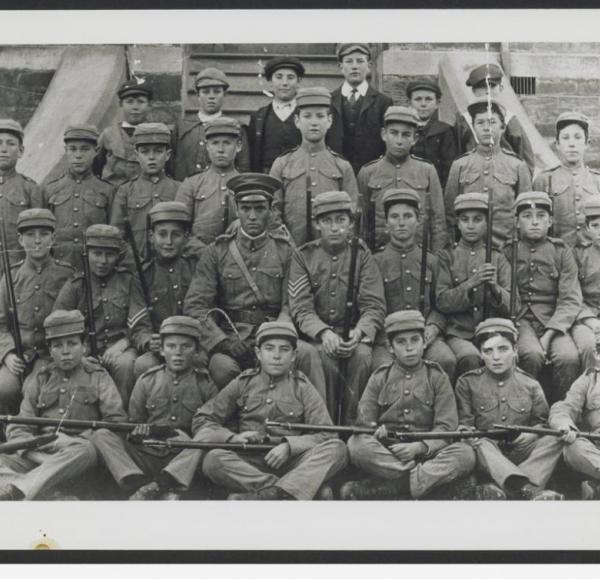 Burra School Detachment of Commonwealth Cadets [B 27713] | Source: http://collections.slsa.sa.gov.au/resource/B+27713