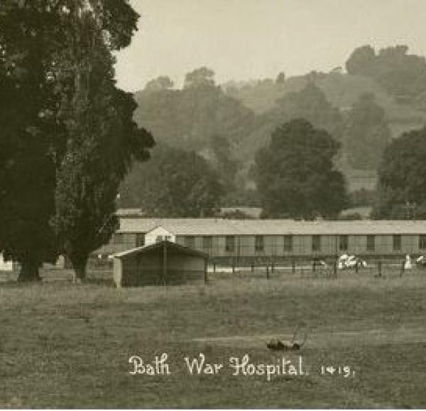 Source: http://www.bathintime.co.uk/image/942771/general-view-bath-war-hospital-combe-park-bath-c-1916