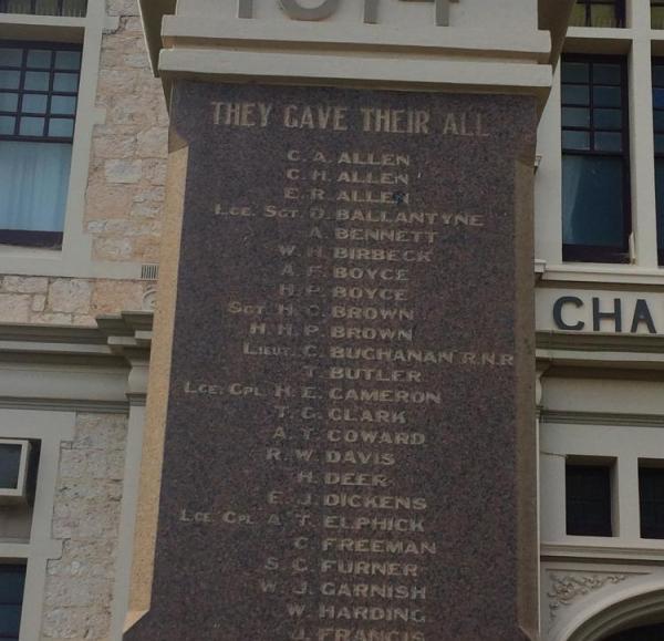 Wallaroo Soldiers' Memorial