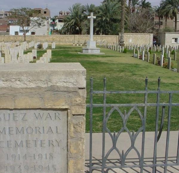 Suez War memorial Cemetery