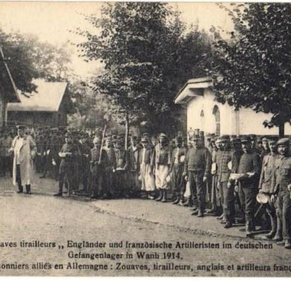 Postcard from Wahn Camp